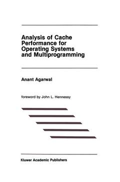 Couverture de l'ouvrage Analysis of cache performance for operating systems and multiprogramming