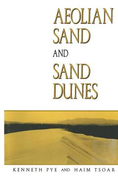 Cover of the book Aeolian sand and sand dunes.