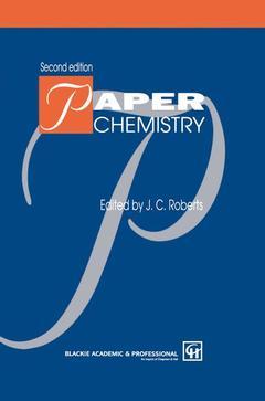 Couverture de l'ouvrage Paper chemistry, 2nd ed 1996