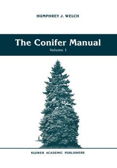 Couverture de l'ouvrage Conifer manual vol 1 (forestry sciences 34)