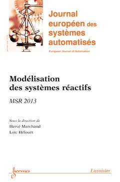 Couverture de l'ouvrage Journal européen des systèmes automatisés Volume 47 N° 1-2-3/Janvier-Mai 2013