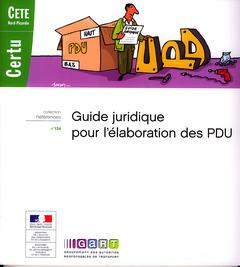 Couverture de l'ouvrage Guide juridique pour l'élaboration des PDU