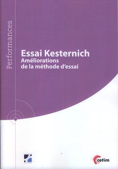 Couverture de l'ouvrage Essai Kesternich