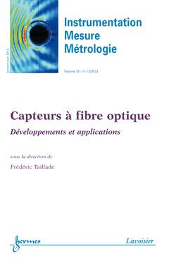 Couverture de l'ouvrage Instrumentation Mesure Métrologie Volume 13 N° 1-2/Janvier-Juin 2013