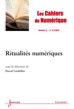 Couverture de l'ouvrage Les Cahiers du Numérique Volume 9 N° 3-4/Juillet-Décembre 2013