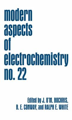 Cover of the book Modern aspects of electrochemistry vol 22