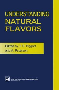 Couverture de l'ouvrage Understanding natural flavors