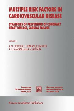 Couverture de l'ouvrage Multiple risk factors in cardiovascular disease : strategies of prevention of coronary heart disease, cardiac failure and stroke (medical science symposia 12)