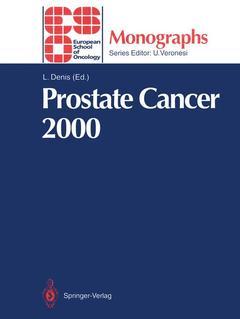 Couverture de l'ouvrage Prostate cancer 2000