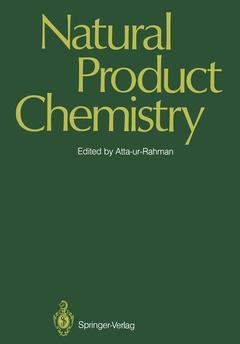 Couverture de l'ouvrage Natural product chemistry