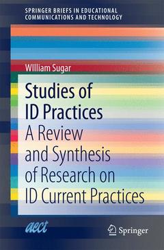 Cover of the book Studies of ID Practices