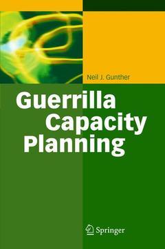 Couverture de l'ouvrage Guerrilla Capacity Planning