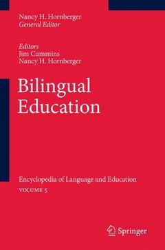 Couverture de l'ouvrage Bilingual Education