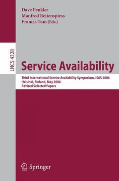 Couverture de l'ouvrage Service Availability