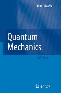 Cover of the book Quantum mechanics
