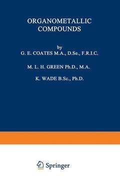 Couverture de l'ouvrage Organometallic Compounds