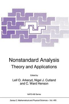 Couverture de l'ouvrage Nonstandard analysis: theory & applications (NATO series C/493, Edinburgh, 30.6/1.7/1996)