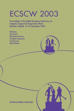 Cover of the book Ecscw 2003