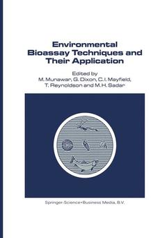 Cover of the book Environmental bioassay techniques & thei r application