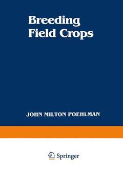 Couverture de l'ouvrage Breeding field crops, 3rd ed 87