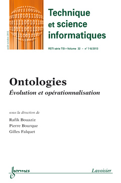 Couverture de l'ouvrage Technique et science informatiques RSTI série TSI Volume 32 N° 7-8/Août-Octobre 2013