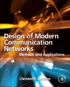 Couverture de l'ouvrage Design of Modern Communication Networks