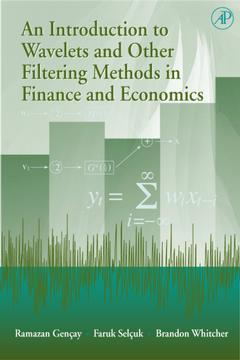Cover of the book An Introduction to Wavelets and Other Filtering Methods in Finance and Economics