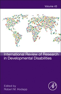 Cover of the book International Review of Research in Developmental Disabilities