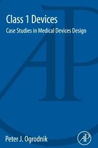 Couverture de l'ouvrage Class 1 Devices
