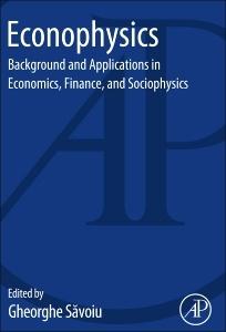 Couverture de l'ouvrage Econophysics