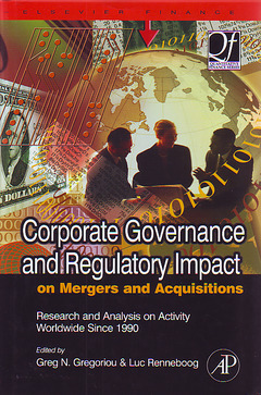 Cover of the book Corporate Governance and Regulatory Impact on Mergers and Acquisitions