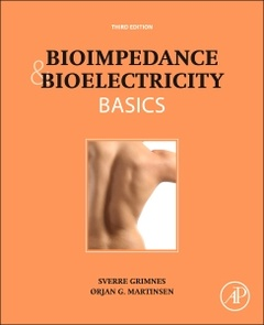 Couverture de l'ouvrage Bioimpedance and Bioelectricity Basics