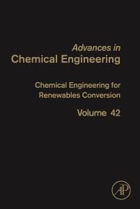Couverture de l'ouvrage Chemical Engineering for Renewables Conversion