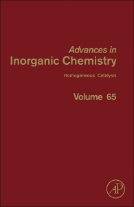 Couverture de l'ouvrage Advances in Inorganic Chemistry