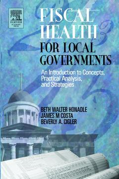Cover of the book Fiscal Health for Local Governments