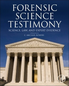 Cover of the book Forensic Testimony