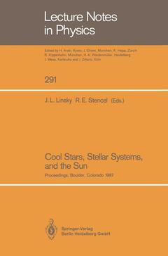 Couverture de l'ouvrage Cool stars, stellar systems, and the sun: proceedings of the fifth cambridge workshop on cool stars, stellar systems, and the sun, held in boulder, colorado,