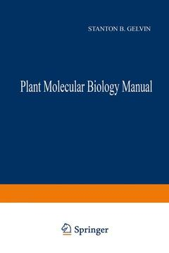Couverture de l'ouvrage Plant molecular biology manual, 2nd ed including supplement 4, 2000 (2 volumes)