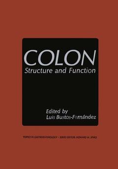 Couverture de l'ouvrage Colon