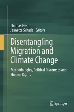 Couverture de l'ouvrage Disentangling Migration and Climate Change