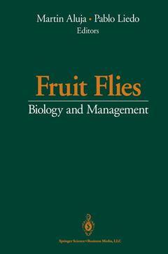 Couverture de l'ouvrage Fruit Flies