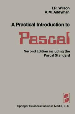 Cover of the book A Practical Introduction to Pascal