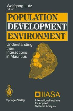 Cover of the book Population - development - environment understanding their interactions in mauritius