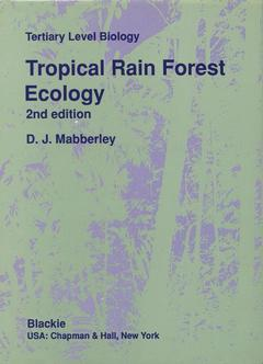 Cover of the book Tropical rain forest ecology (2nd ed.91) bound