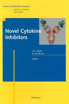 Cover of the book Novel Cytokine Inhibitors