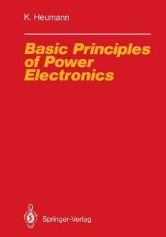 Cover of the book Basic Principles of Power Electronics