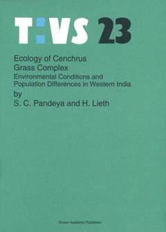 Couverture de l'ouvrage Ecology of cenchrus grass complex.TAVS23