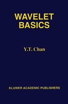 Couverture de l'ouvrage Wavelet basics