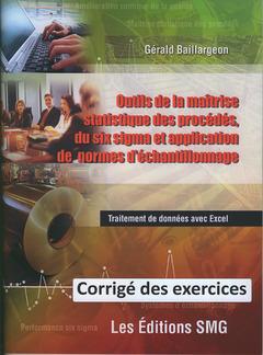 Couverture de l'ouvrage Outils de la maîtrise statistique des procédés, du six sigma et application de normes d'échantillonnage