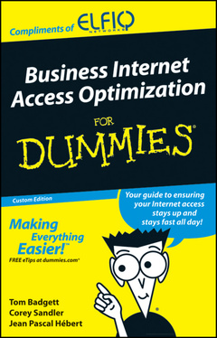 Cover of the book Business Internet Access Optimization For Dummies®